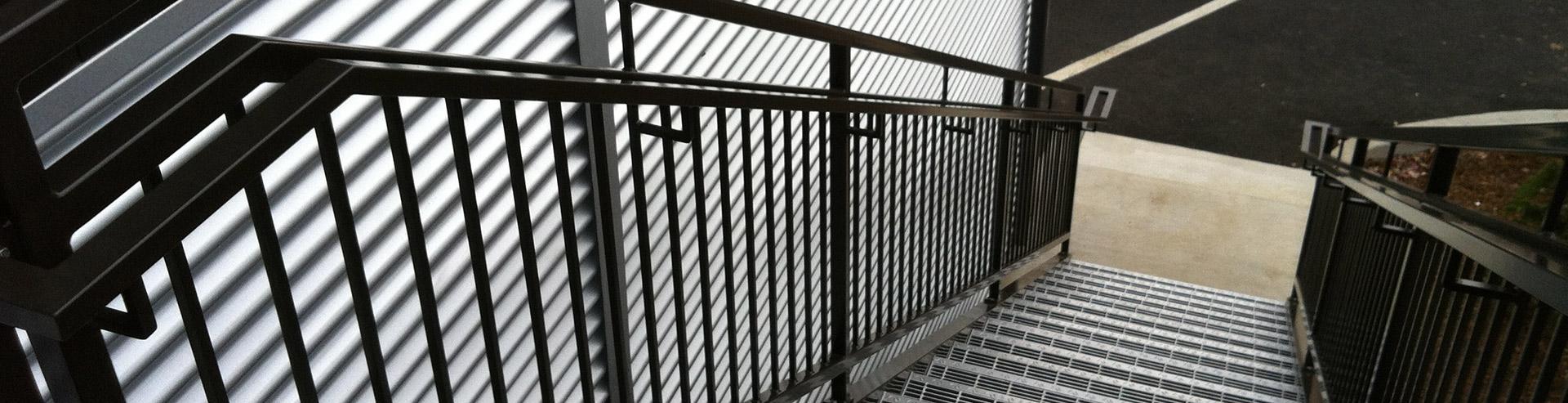 Trap van Metaalconstructie Hansoul